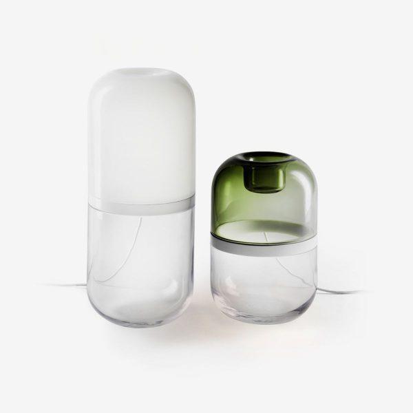 Lámparas demi en diferentes tamaños