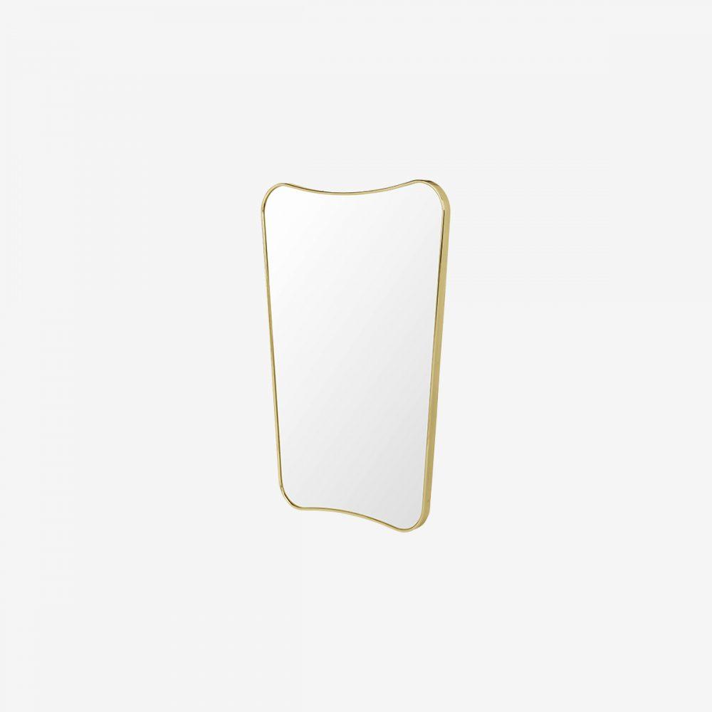Espejo gubi 50x80 lateral laton