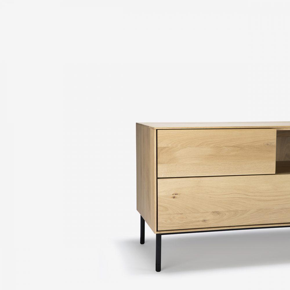 Mueble de televisión whitebird detalle