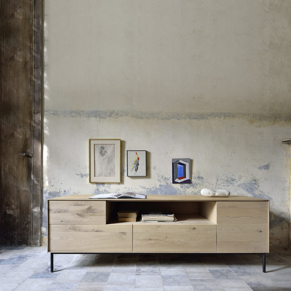 Mueble de televisión whitebird decoración