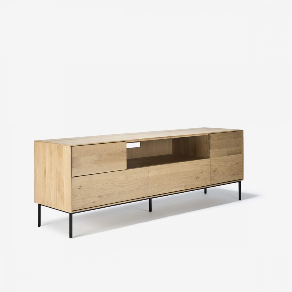 Mueble de televisión whitebird lateral