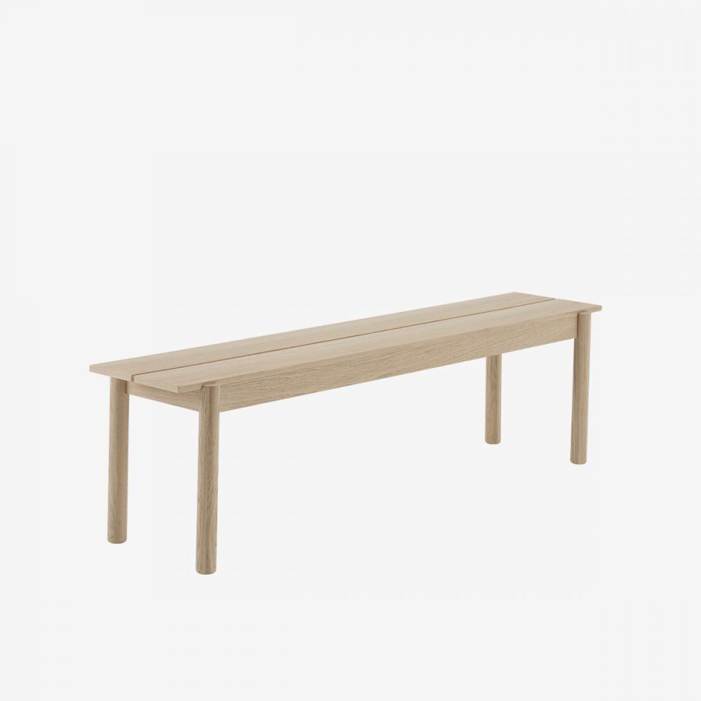 Banco linear madera